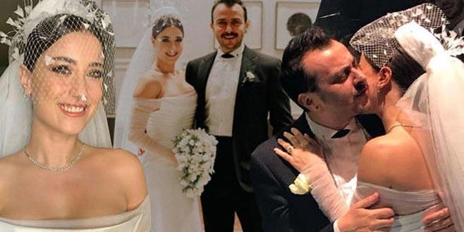 Ünlü çiftin düğününde Bursalı oyuncu dansıyla olay oldu!