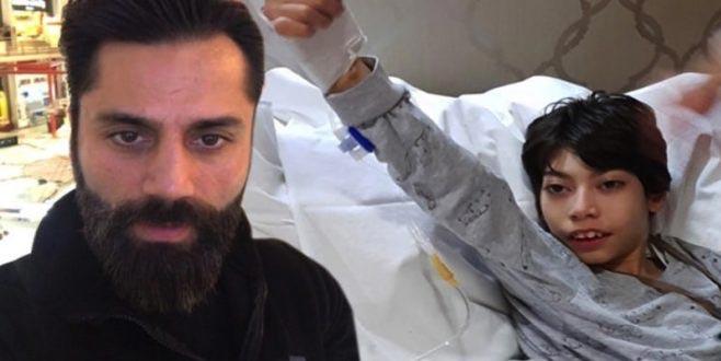 Oğlunun tedavisi için en büyük yardım Süper Lig ekibinden geldi