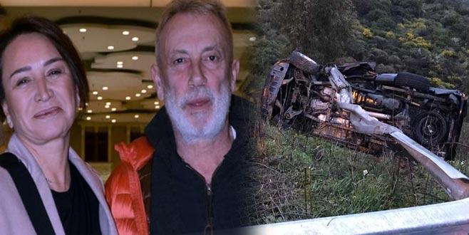 Demet Akbağ'ın eşi Zafer Çika'nın hayatını kaybettiği kazada kahreden detay!