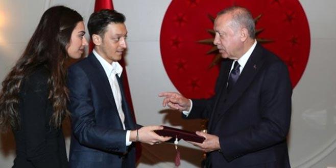 Mesut Özil'e Erdoğan tepkisi! Çarpıcı iddia ortaya atıldı