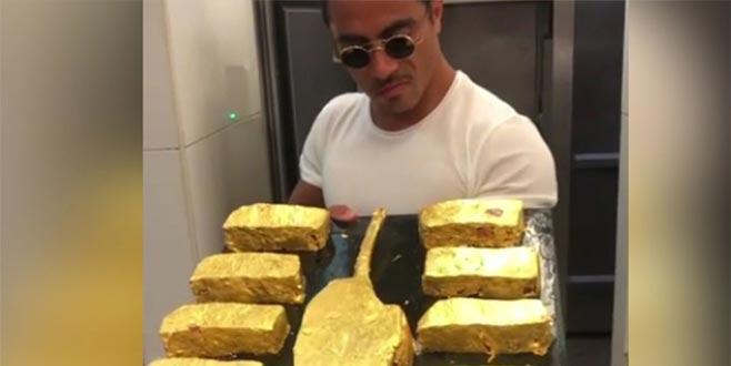 İşte Nusret'in altın kaplama etlerinin fiyatı!
