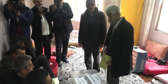 Türkiye'nin en erken biten seçim sandığı!