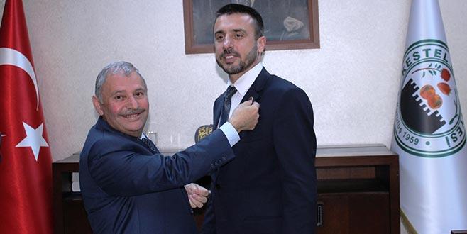 Kestel'de yeni başkan Tanır işbaşı yaptı
