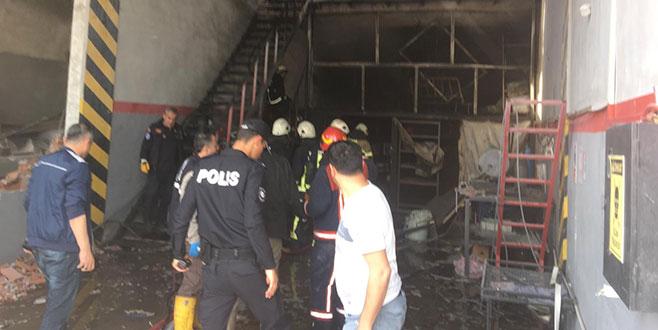 Bursa'da sanayi sitesinde patlama: 2 ölü, 3 yaralı