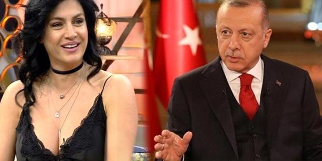 Tuğba Ekinci'nin Erdoğan paylaşımı sosyal medyayı salladı!