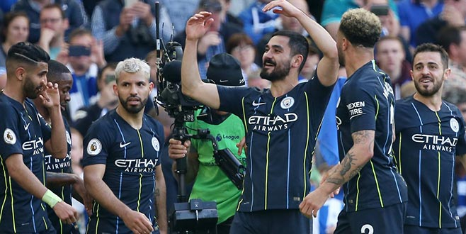 Premier League şampiyonu: Manchester City