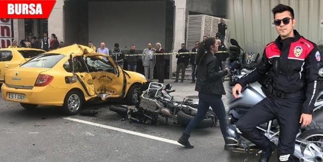 Polisin şehit olduğu kazada taksici 'asli kusurlu' çıktı