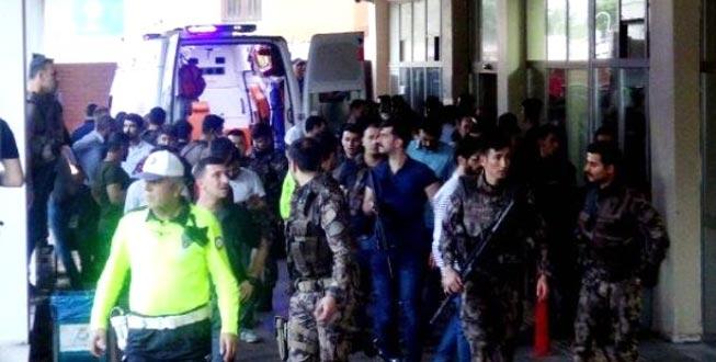 Özel harekat polislerine hain saldırı: Şehit ve yaralılar var