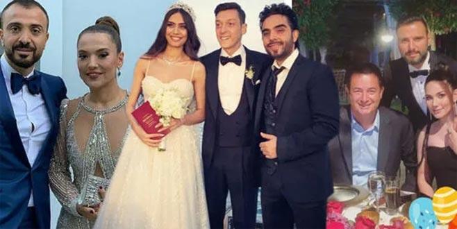 Amine Gülşe ile Mesut Özil'in düğününe ünlüler akın etti