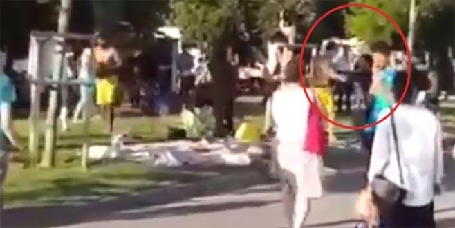 Ünlü oyuncunun eşi ve kızı saldırıya uğradı