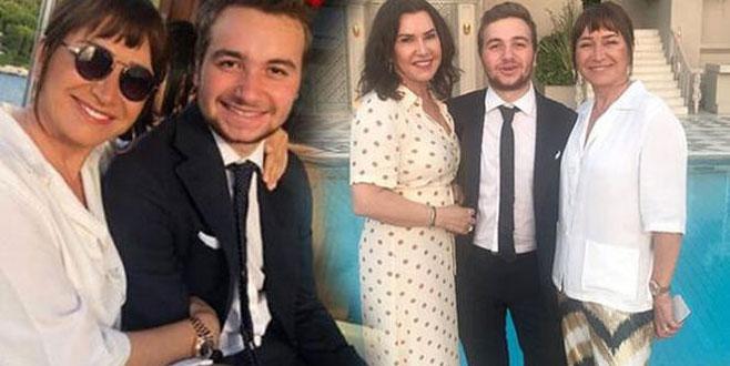 Demet Akbağ ve Zafer Çika'nın oğlu Ali Çika mezun oldu