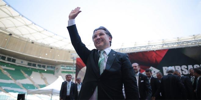 Bursaspor'da yeni başkan Mesut Mestan