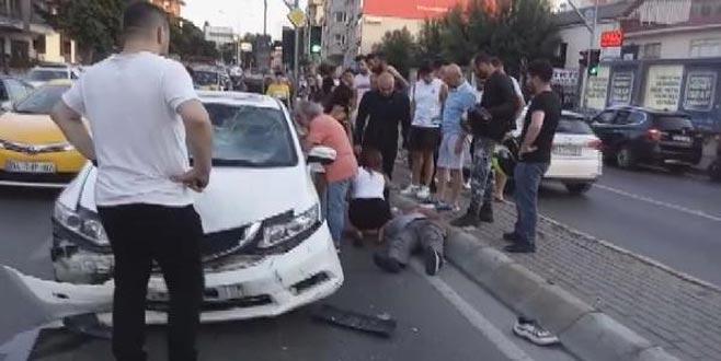 Usta oyuncu ve 5 yaşındaki kızı kaza geçirdi!