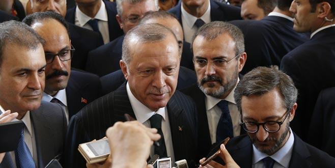 Erdoğan'dan kabine revizyonu açıklaması