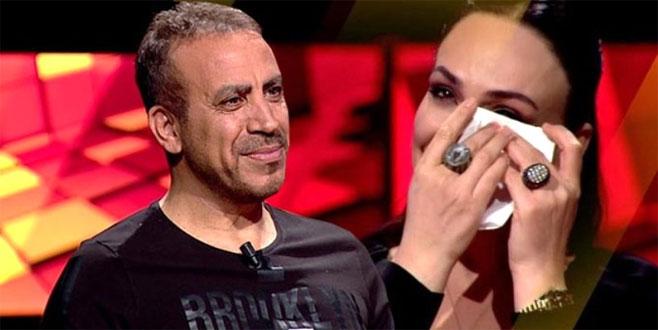 Haluk Levent Bursalı spikeri gözyaşlarına boğdu