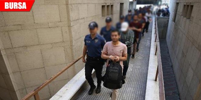 FETÖ operasyonunda gözaltına alınan 23 şüpheli adliyede