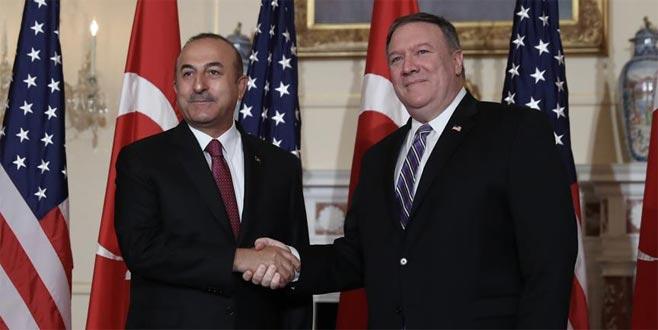 Çavuşoğlu, Pompeo ile F-35, S-400 ve Suriye'yi görüştü