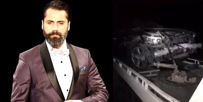 Ünlü şarkıcı Çılgın Sedat, trafik kazası geçirdi!