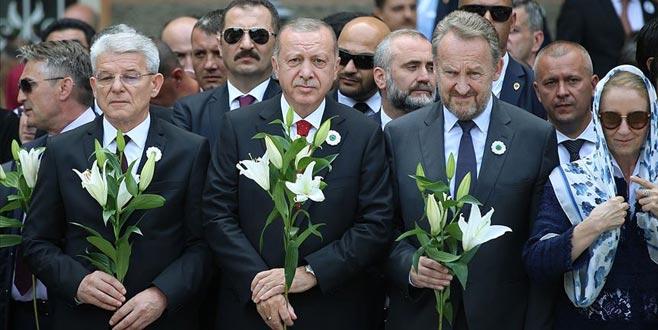 Erdoğan'dan 'Srebrenitsa soykırımı' paylaşımı