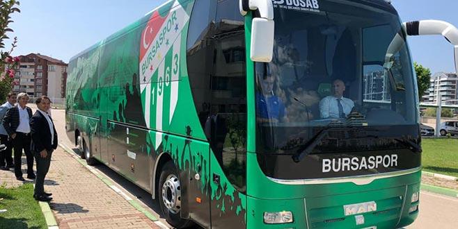 Otobüsü geri aldılar