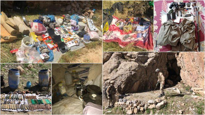 Jandarma ve emniyet birimlerinden PKK'ya ağır darbe