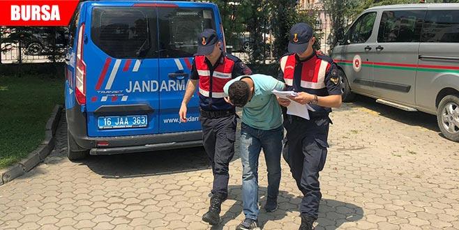 Okul inşaatından 300 Bin TL'lik demir çalan kişi tutuklandıw