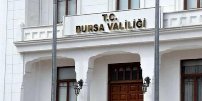 Bursa Valiliği programı açıkladı!