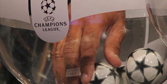 Şampiyonlar Ligi kuraları çekildi… İşte eşleşmeler…