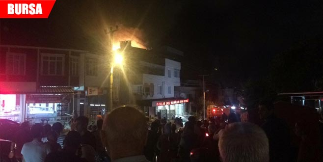 Korkutan yangın! Herkes sokağa döküldü…