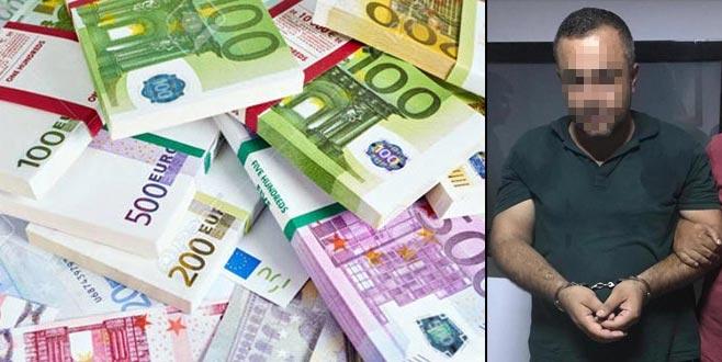 4 milyon 795 bin Euro çalan hırsız yakalandı