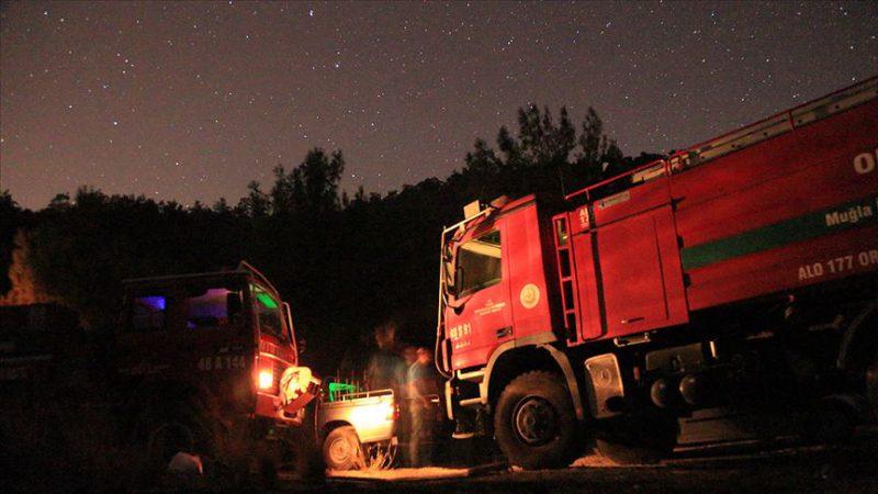 Milas'taki orman yangını kontrol altına alındı