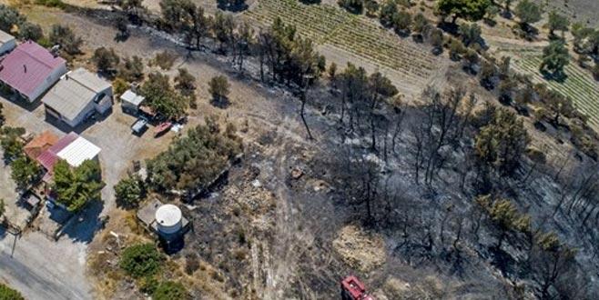 İki köyü kurtardı, 'ormanı yaktın' diye saldırdılar
