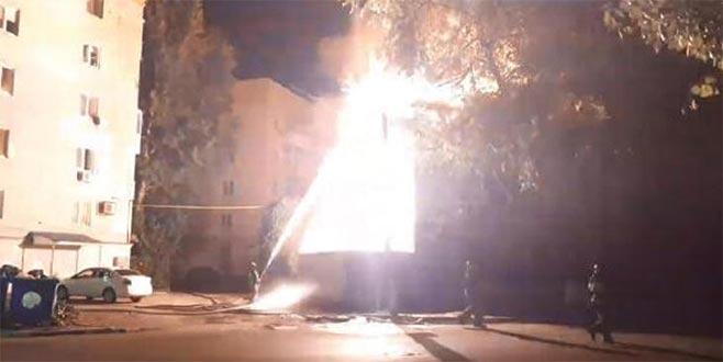 Rusya'da yangın: 2 ölü