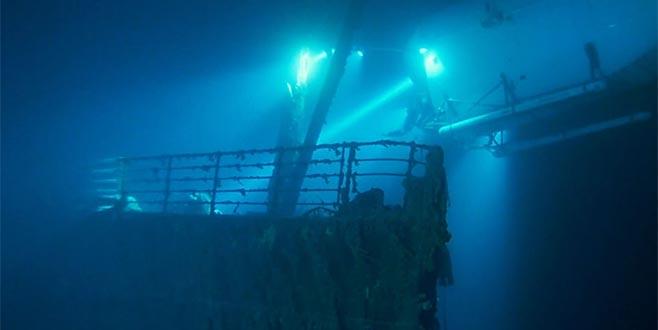 Titanik yok oluyor