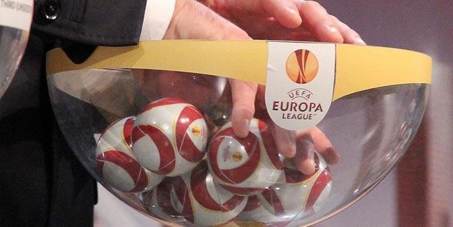 UEFA Avrupa Ligi'nde sürpriz eşleşmeler!