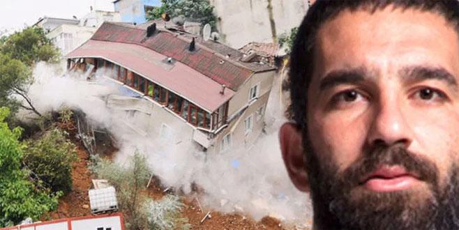 Arda Turan'a dava şoku! Evleri yıkılmıştı