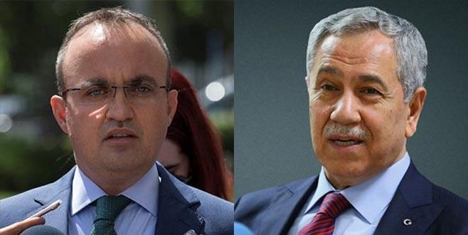 AK Parti'den Bülent Arınç'a Ahmet Türk tepkisi