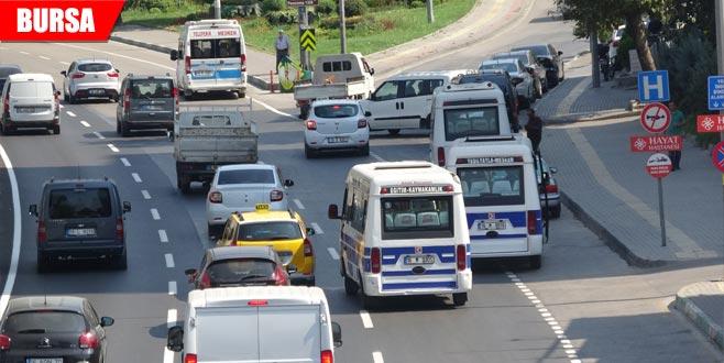 Aktaş'tan şehrin doğusundaki minibüslerle ilgili açıklama