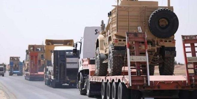 ABD'den YPG'ye 200 TIR'lık yeni askeri sevkiyat