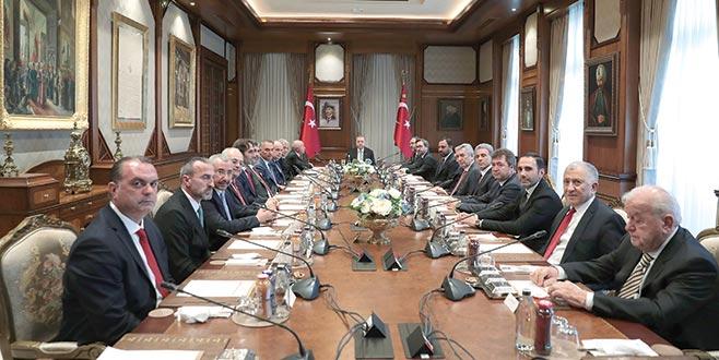 TFF'den Erdoğan'a ziyaret