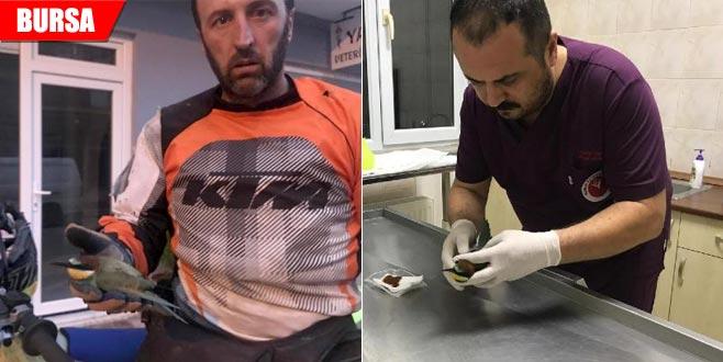 Yaralı haldeydi… Şampiyon motosikletçi buldu