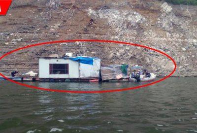 Barajın üzerinde tespit edildi! Hemen operasyon düzenlendi…