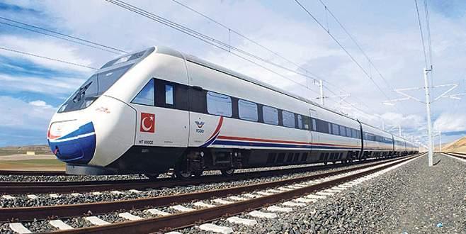 Hızlı trenin altyapı inşaatı 2021'de bitiyor, doğu istasyonu raftan indi