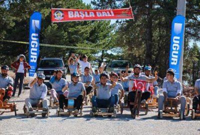 'Tahta araba' yarışıyla farkındalık mesajı