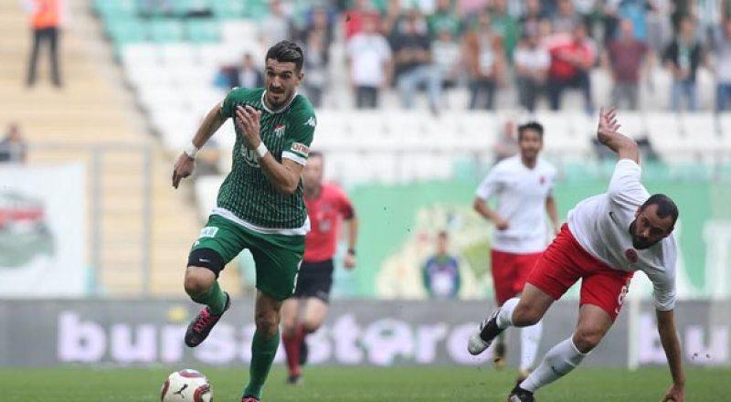 Bursaspor 2-1 C.G. Ümraniyespor