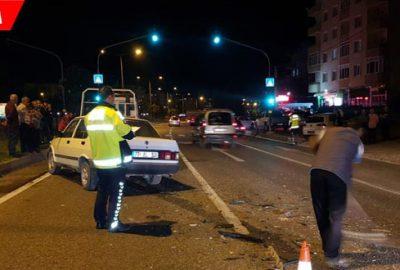 Kırmızı ışıkta alkollü sürücü dehşeti