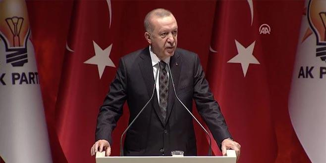 Cumhurbaşkanı Erdoğan: Şöyle siz kenarda durun…