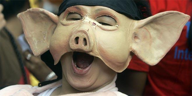 'Helal turizm'e karşı 'domuz festivali'