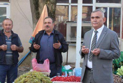 Keles Pazarı'nda bu sefer Barış Pınarı için dua edildi