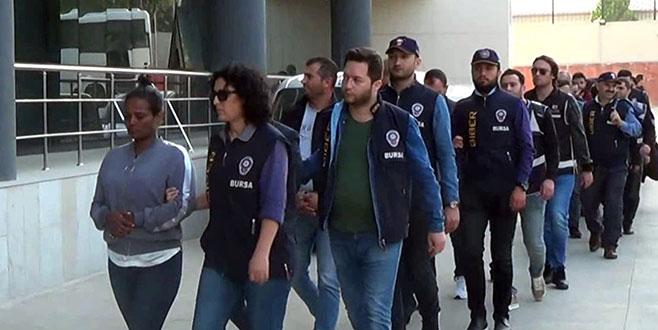 Bursa polisinden '20 milyon dolarlık' operasyon